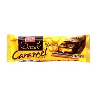 شکلات دريم تابلت شير با مغز کارامل 24 گرم شيرين عسل