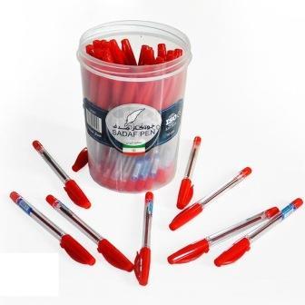 خودکار قرمز صدف