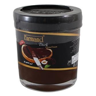 شکلات صبحانه کرم تلخ فندقي 200 گرم فرمند