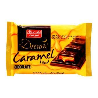 شکلات دريم تابلت شير با مغز کارامل 48 گرم شيرين عسل