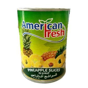 کمپوت آناناس 565 گرم american fresh