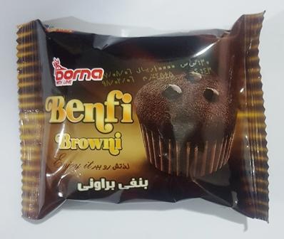 شکلات دو سر پيچ دارک با مغزي 400 گرم باراکا