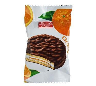 والس کاکائويي با طعم  پرتقال شيرين عسل 20 گرم