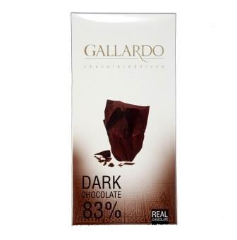 تابلت گالاردو شکلات تلخ 83%