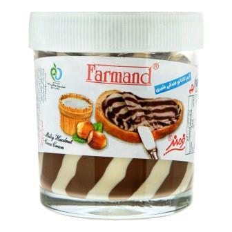 شکلات صبحانه دو رنگ فندوقي شيري 200 گرم فرمند