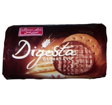 بيسکويت سبوسدار با روکش شکلاتي دايجستا کويت