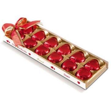شکلات قلبي کادويي  فرمند 96 گرم