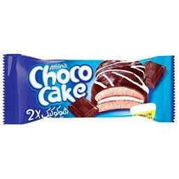 شوکو کيک وانيلي با روکش شکلات دوقلو 40 گرم شيرين عسل
