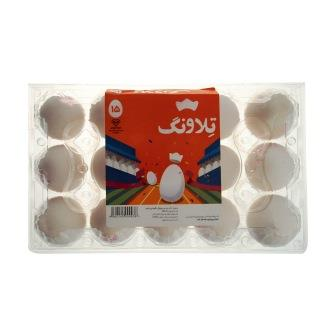 تخم مرغ تلاونگ بسته بندي 15 عددي