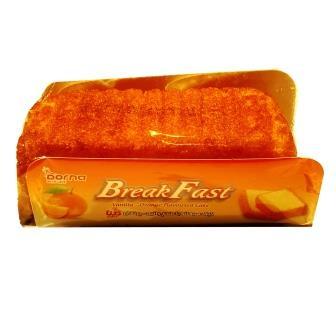کيک صبحانه با طعم وانيل پرتقال 90 گرم درنا