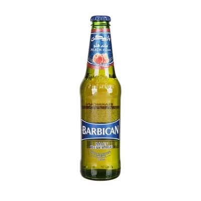 نوشيدني مالت با طعم هلو باربيکن