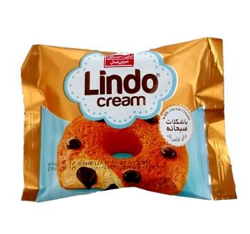 کيک مغزدار کرم کاکائو فندوقي ليندو 45 گرم شيرين عسل